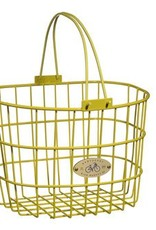 Surfside Adult Wire Basket - Yellow