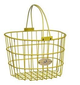 Bike Basket - Surfside Adult Wire - Yellow