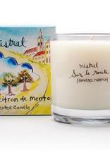 Menton Citrus Candle 8.8 oz - Mistral Provence Road Trip