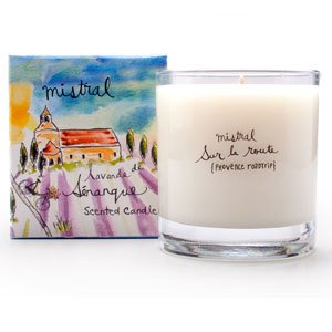 Senanque Lavander Candle 8.8 oz - Mistral Provence Road Trip