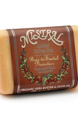 Mistral Classic French Soap - Sandalwood Hazelnut - 7 oz