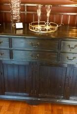 Black Rustic pine buffet/sideboard