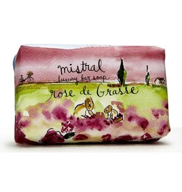 Rose De Grasse Soap 200g - Mistral Provence Road Trip Collection