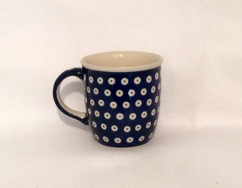 Mug - Blue w/ White Dots