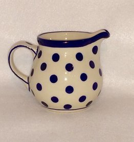 Creamer - Blue/White Dots