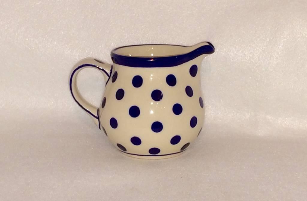 Creamer - Blue/White Dots