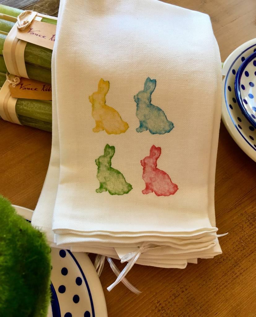 4 Bunny Towel