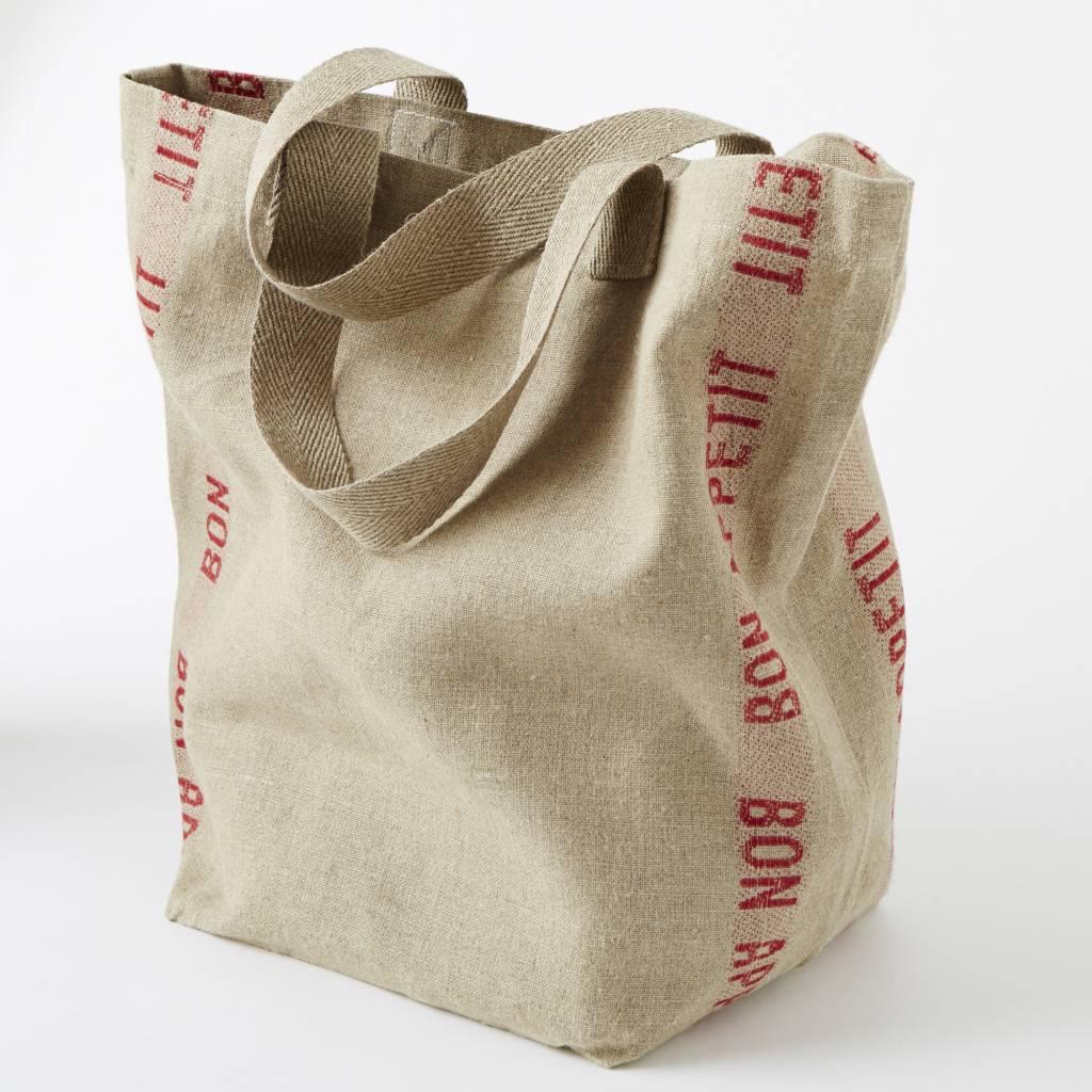 """Charvet Editions - Bag/Rouge Bon appetit 15""""x23"""""""