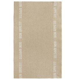 Charvet Editions - Tea Towel/Blanc Bon Appetit - 18 x 30