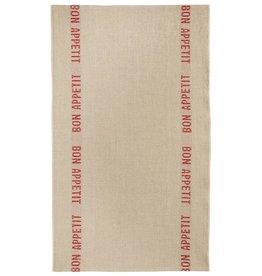 Charvet Editions - Tea Towel/Rouge Bon Appetit - 18 x 30