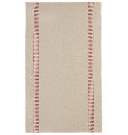 Charvet Editions - Tea Towel/Rouge Vichy - 18 x 30
