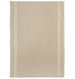 """Charvet Editions - Bistro/Tea Towel Natural & White Country - 20""""x30"""""""