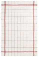"Charvet Editions - Bistro/Tea Towel Red & White Bistro Lave - 20""x30"""