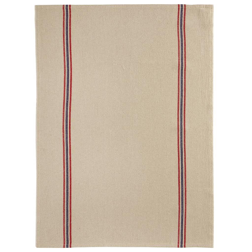 """Charvet Editions - Bistro/Tea Towel Natural Drapeau - 21""""x30"""""""