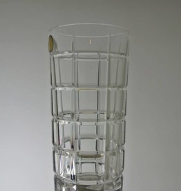 Bohemia Crystal - Tall Glass - Cut