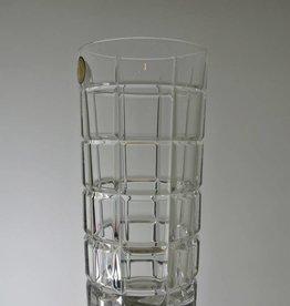 Bohemia Crystal - Tall Glass - Cut