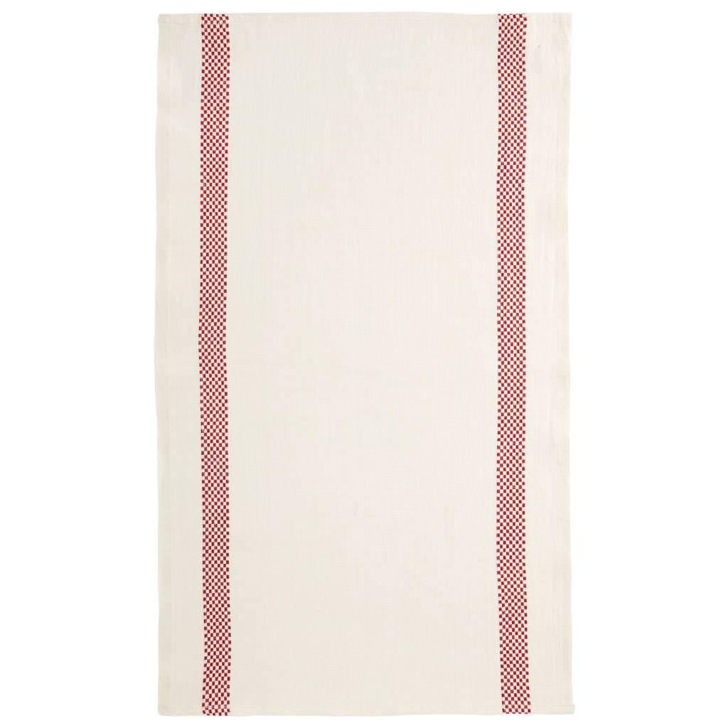 "Charvet Editions - Bistro/Tea Towel Red Lustucru - 18""x30"""