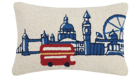 "London Tour Pillow 12"" x 22"""