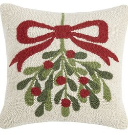"Pillow - Mistletoe 16"" X 16"""