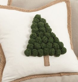 "Pillow - Tree - 18""  x 18"" -  Down Filled"