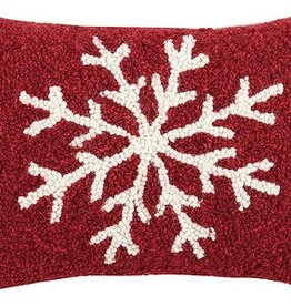 "Pillow - Snowflake - 8"" x 12"""