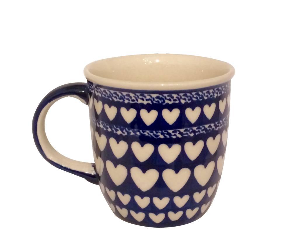 Mug - Blue Hearts