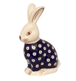 Rabbit - Blue/White Dots