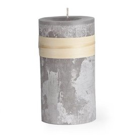 Timber Candle 3.25x6 Smoky Gray -  Vance Kitira
