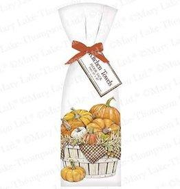 Pumpkin Basket Towel Set