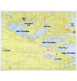 WA Fisher Fisher Map F-1 West Lake Vermilion