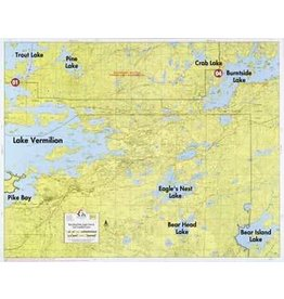 WA Fisher Fisher Map F-2 East Lake Vermilion