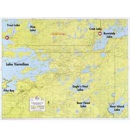 WA Fisher Fisher Map F-2 East Lake Vermilion