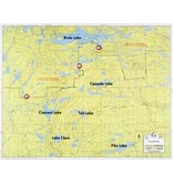 WA Fisher Fisher Map F-6 Brule Lake