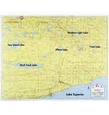 WA Fisher Fisher Map F-7 South Gunflint