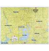 WA Fisher Fisher Map F-8 Vermilion, Trout