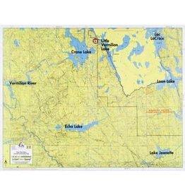 WA Fisher Fisher Map F-15 Crane, Echo, Loon Lakes