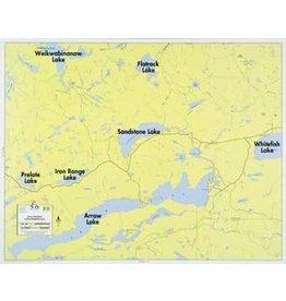 WA Fisher Fisher Map F-21 Arrowhead, Sandstone, West Lakes