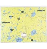 WA Fisher Fisher Map F-27 Plummes, Titmarsh Lakes