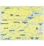 WA Fisher Fisher Map F-29 Jean, Batchewaung, West Pickerel Lakes