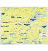 WA Fisher Fisher Map F-29 Jean, Batchewaung, West Pickerel Lakes