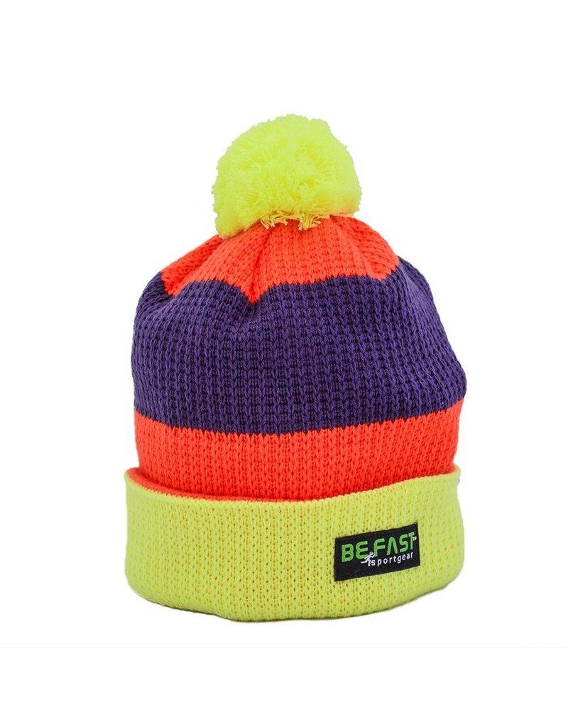 BeFAST Striped Knit Hat