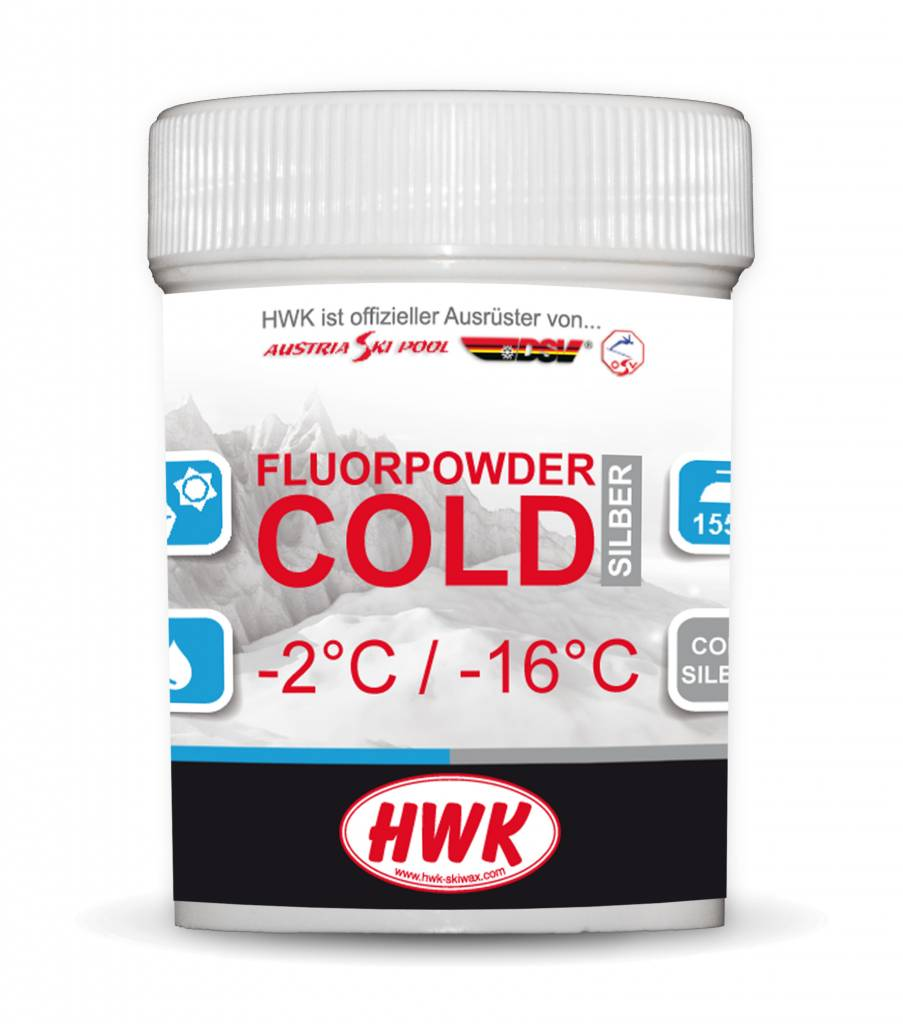 HWK Fluor Powder Cold Silver 30g