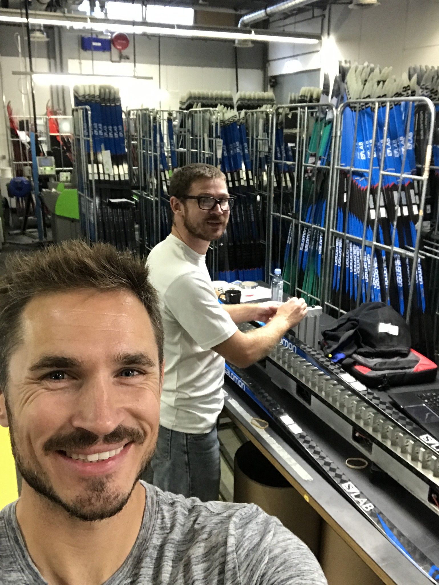 Salomonatomic ski picking recap pioneer midwest we were picking skis for both specific customers and general inventory for the shop josh and i would start sorting kilo skis of a certain model and length sciox Images