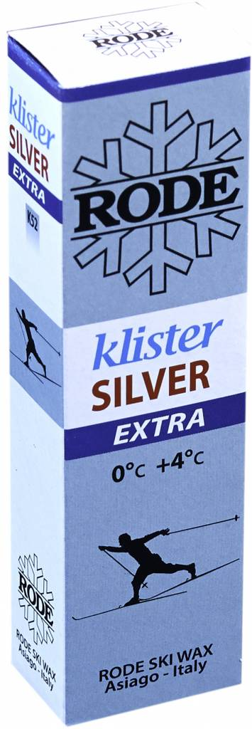 Rode Rode Silver Extra Klister 60g