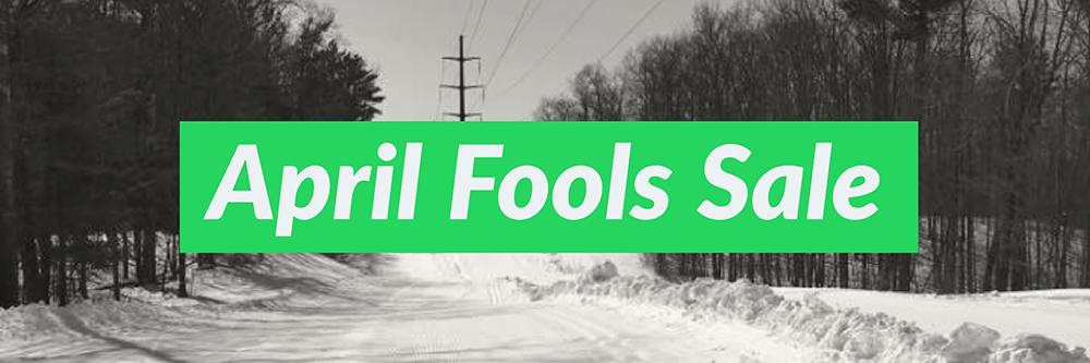 Pioneer Midwest April Fools Sale On Skin Skis and Poles