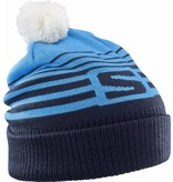 Salomon Salomon Izi Beanie Hawaiian Surf/Night Sky/White