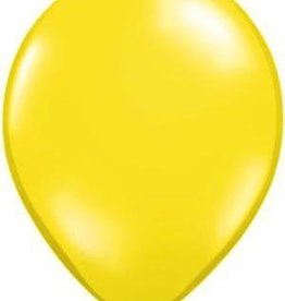 "11"" Citrine Yellow Qualatex Latex  Balloon 1 Dozen Flat"