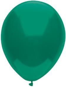 """11"""" Forest Green Partymate Balloons (100)"""