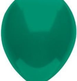 "11"" Forest Green Partymate Balloons (100)"