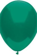 "11"" Forest Green Partymate Balloons (15)"